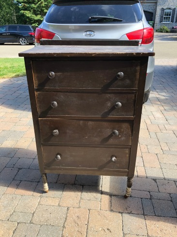 169 Commode antique 4 tiroirs